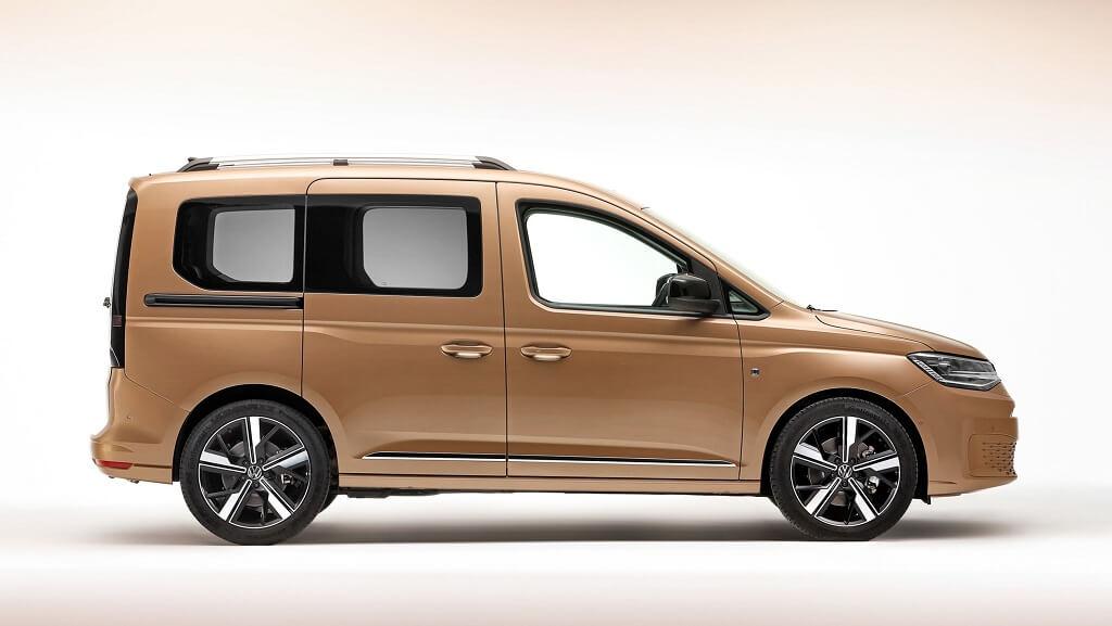 2021 Yeni VW Caddy yan tasarım