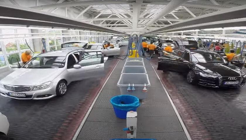 Dünyanın en büyük oto yıkamacısı