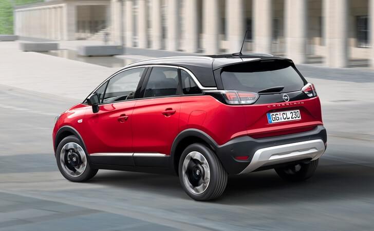 2021 Makyajlı Opel Crossland arka tasarımı