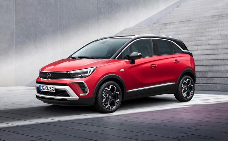 2021 Makyajlı Opel Crossland fotoğrafları