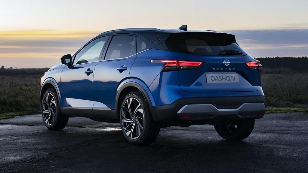 2021 Yeni Nissan Qashqai arka tasarım