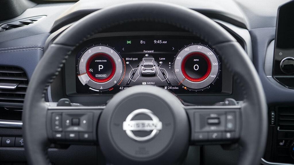 2021 Yeni Nissan Qashqai dijital gösterge
