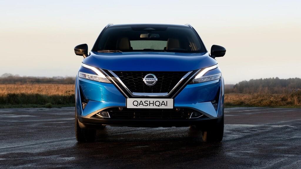 2021 Yeni Nissan Qashqai ön tasarım
