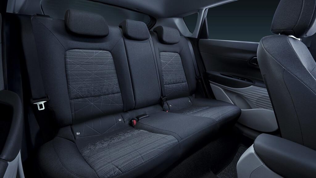 2021 Hyundai Bayon arka koltuklar
