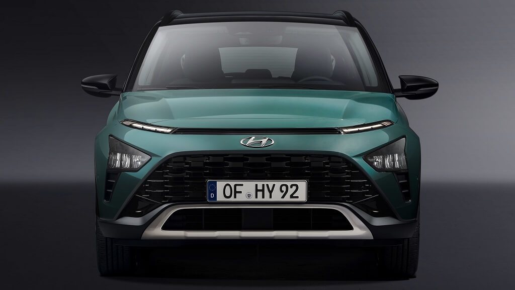 2021 Hyundai Bayon ön tasarım