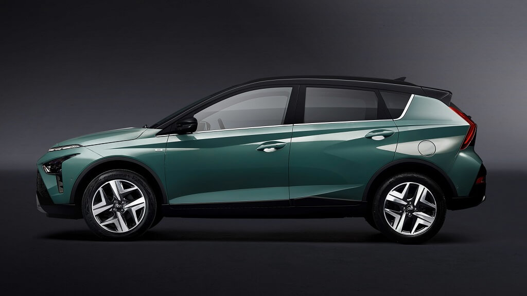 2021 Hyundai Bayon yan tasarım