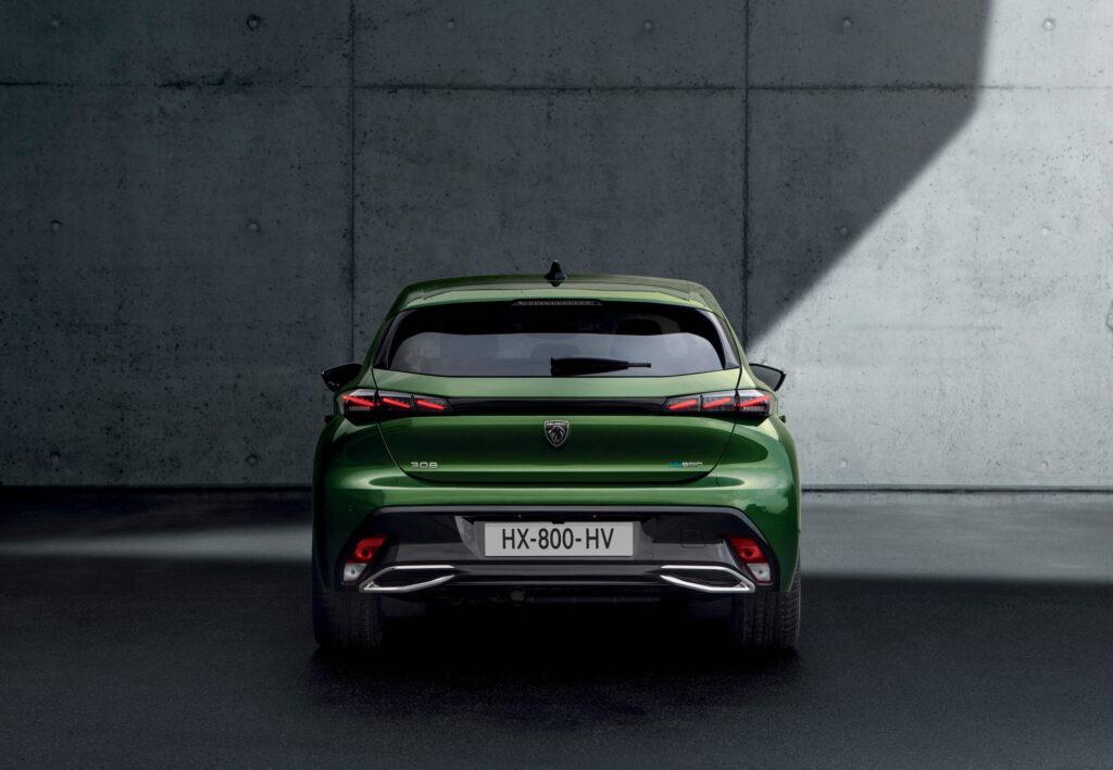 2021 Yeni Peugeot 308 arka tasarım