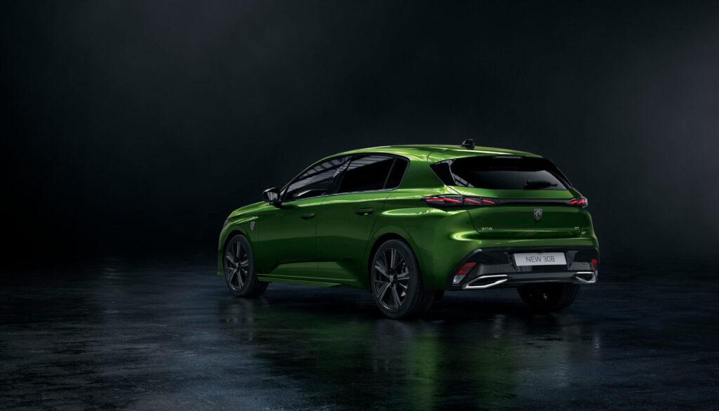 2021 Yeni Peugeot 308 yan tasarım