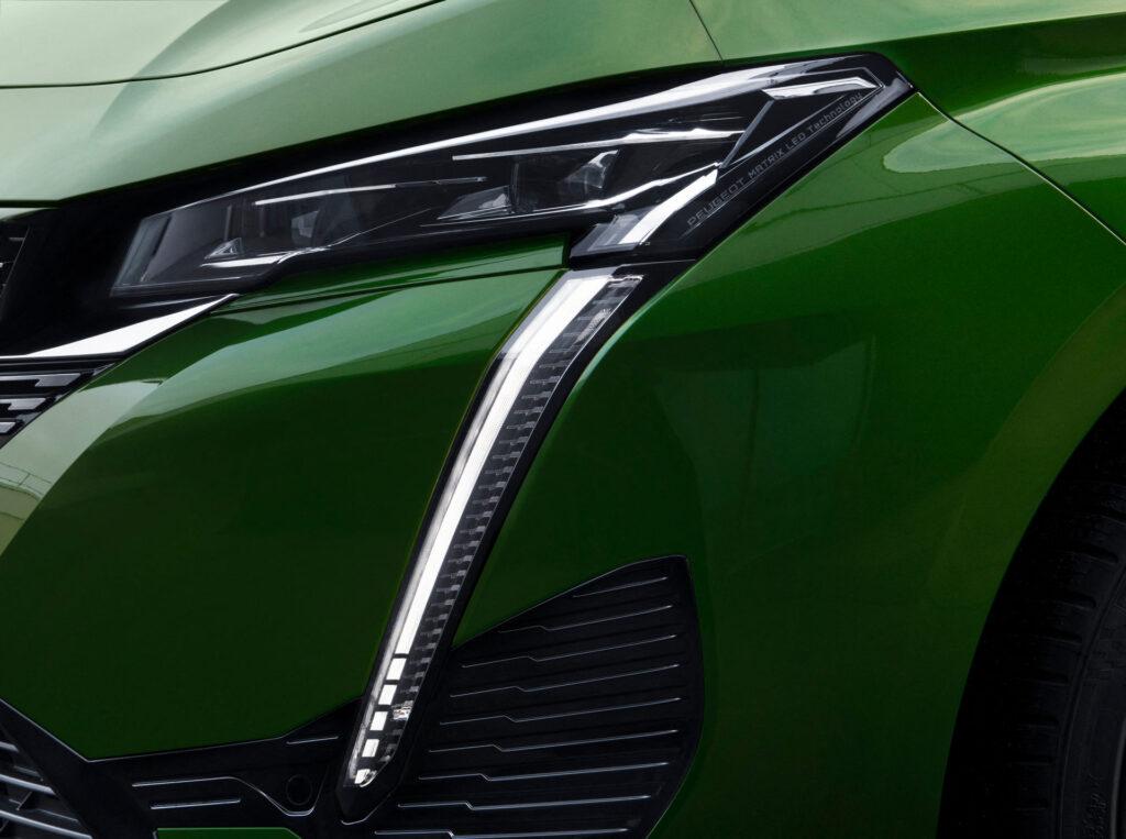 2021 Yeni Peugeot 308 matrix farlar