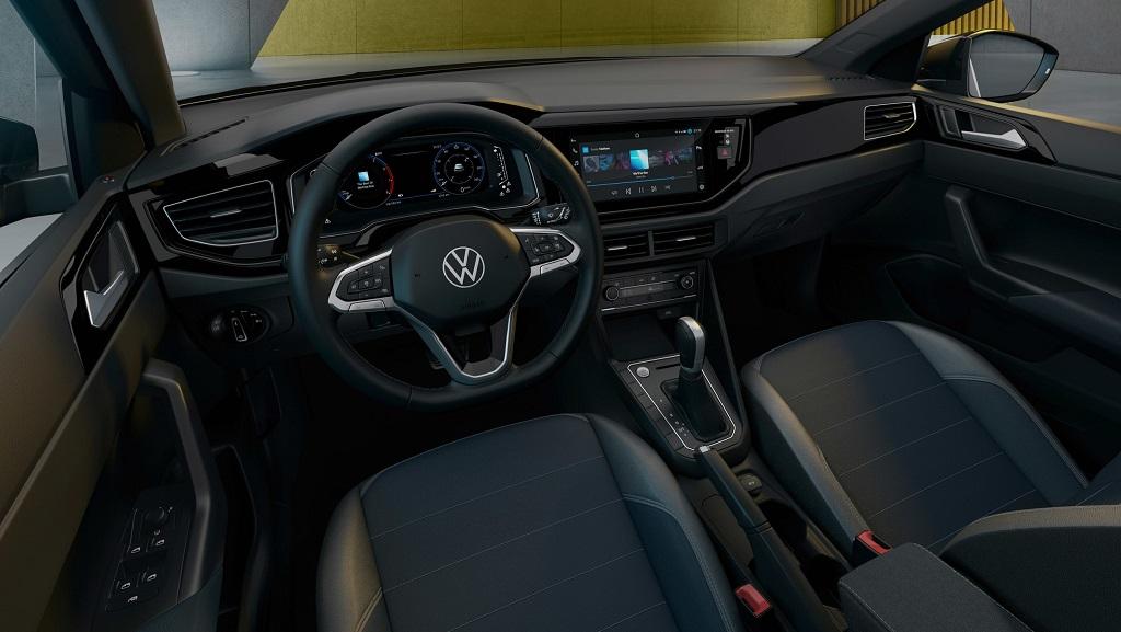 2022 Volkswagen Taigo iç mekan görüntüleri