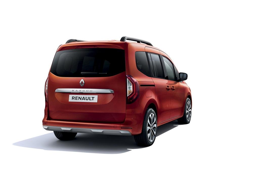 2021 Yeni Renault Kangoo arka tampon