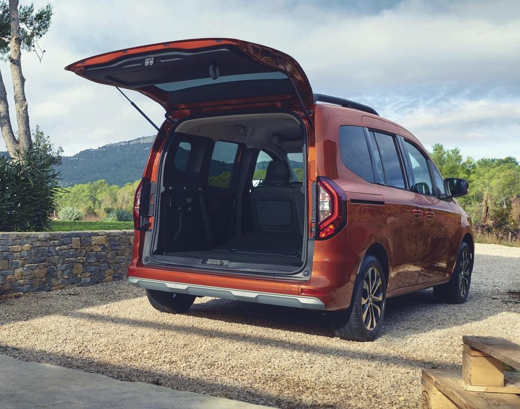 2021 Yeni Renault Kangoo bagaj hacmi