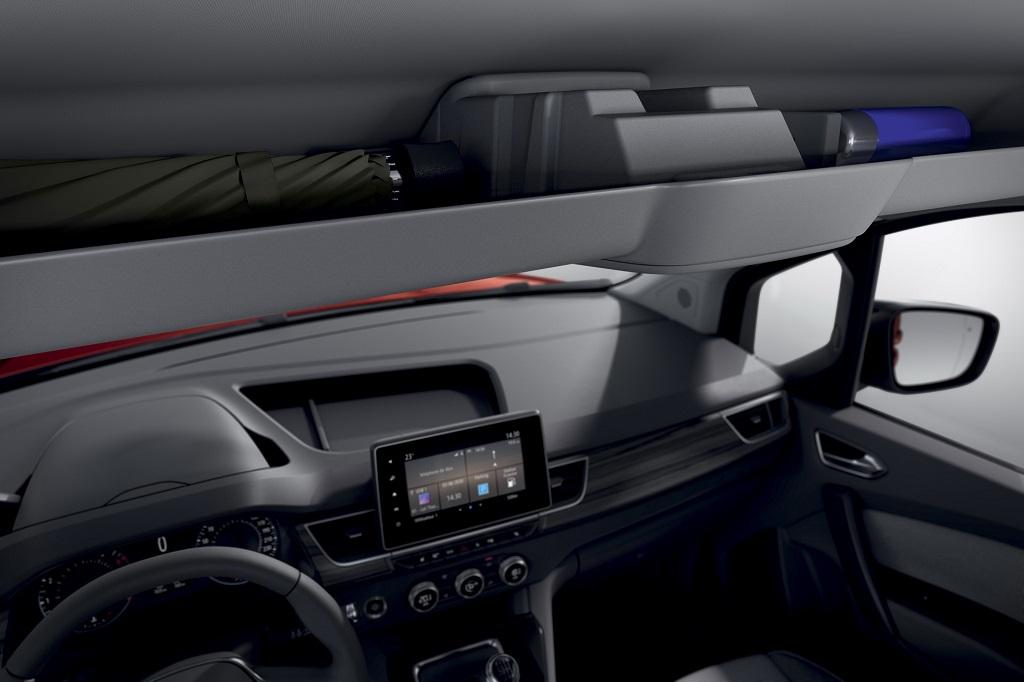 2021 Yeni Renault Kangoo bilgi eğlence ekranı