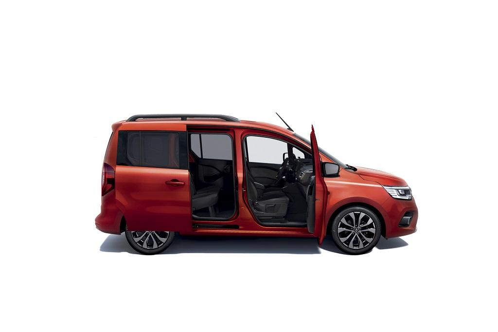 2021 Yeni Renault Kangoo kapılar
