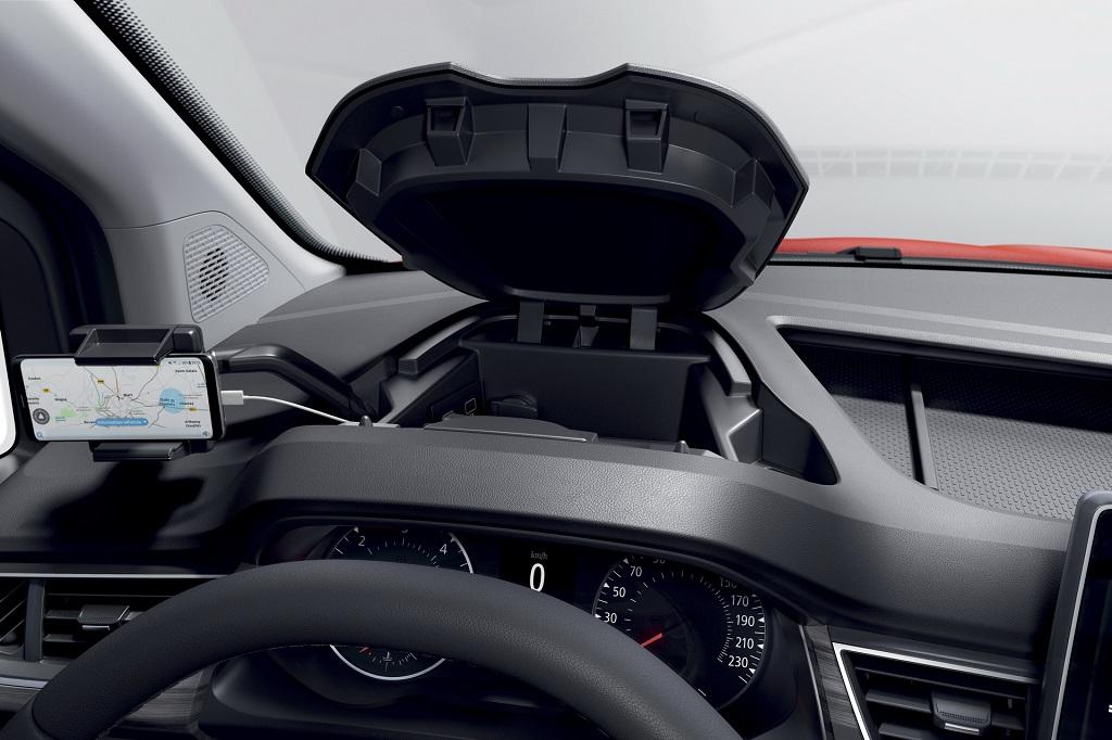 2021 Yeni Renault Kangoo saklama alanları