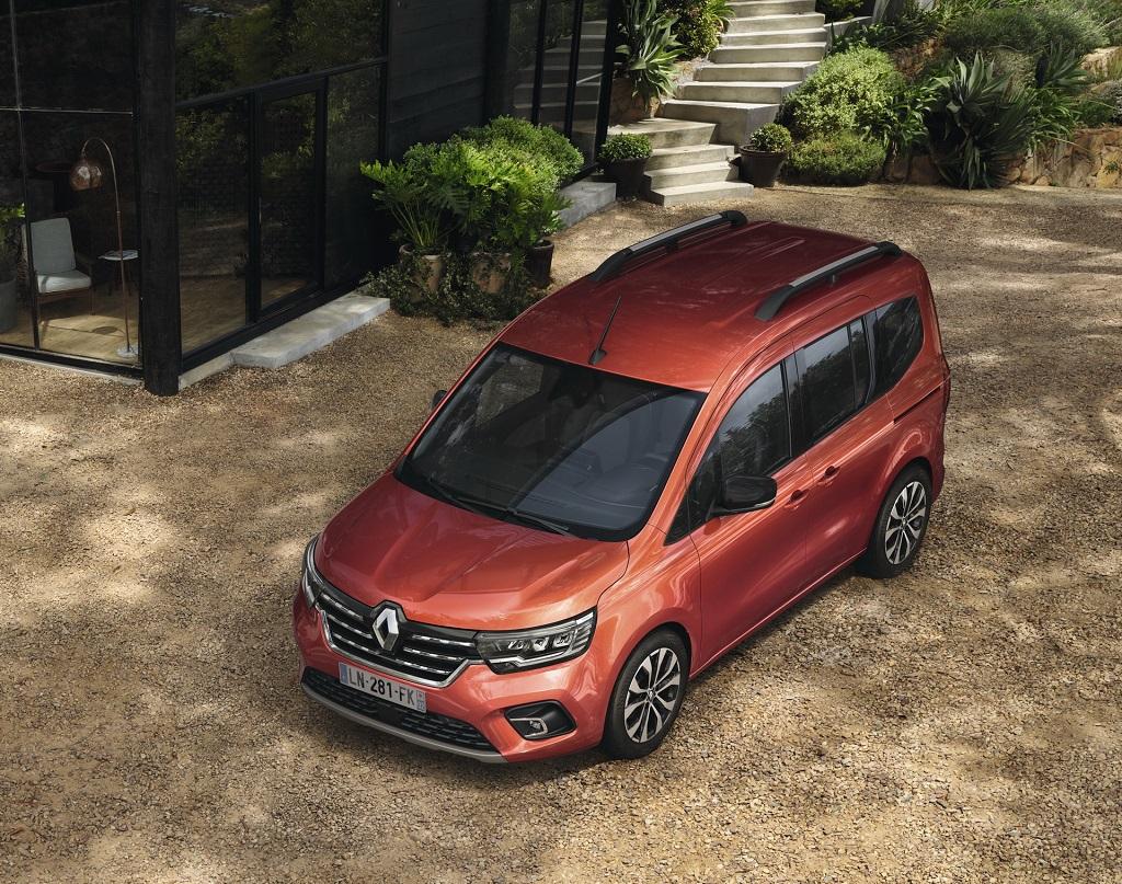 2021 Yeni Renault Kangoo üst bakış