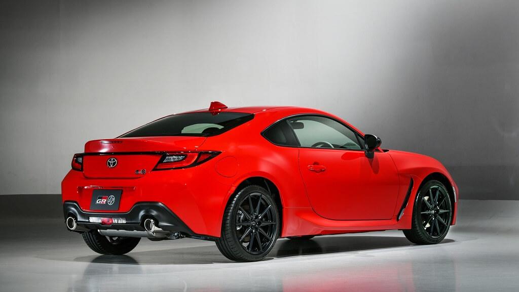 2022 Toyota GR 86 arka tampon