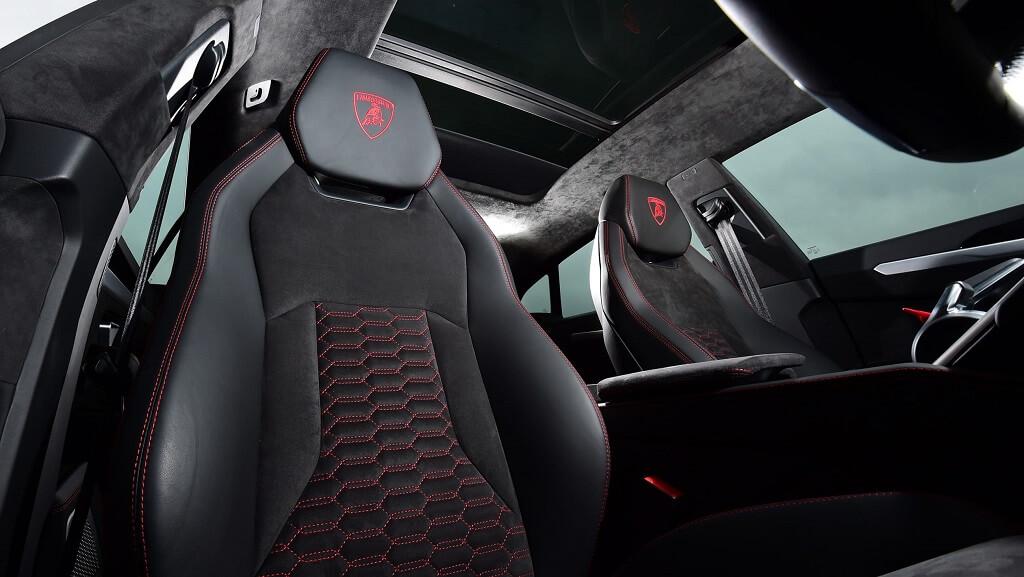 Lamborghini Urus koltuklar