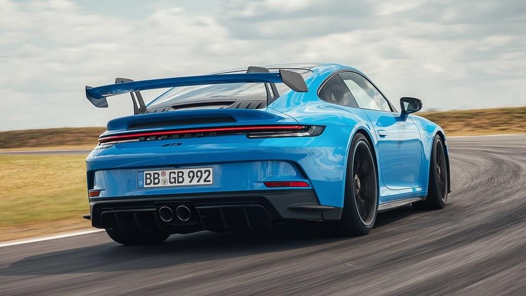 2021 Porsche 911 GT3 fotoğrafları