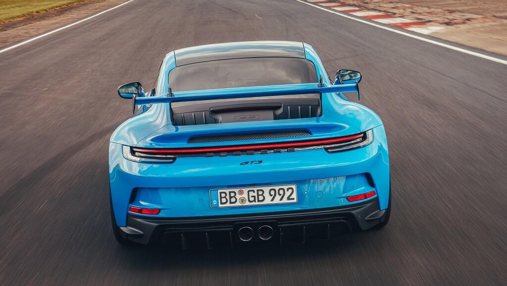 2021 Porsche 911 GT3 kanat