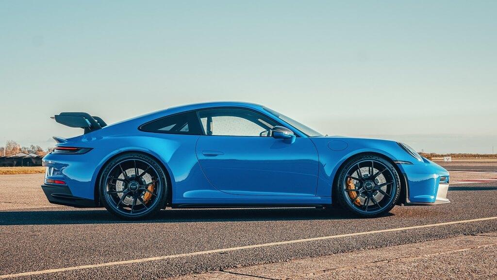 2021 Porsche 911 GT3 yan tasarım