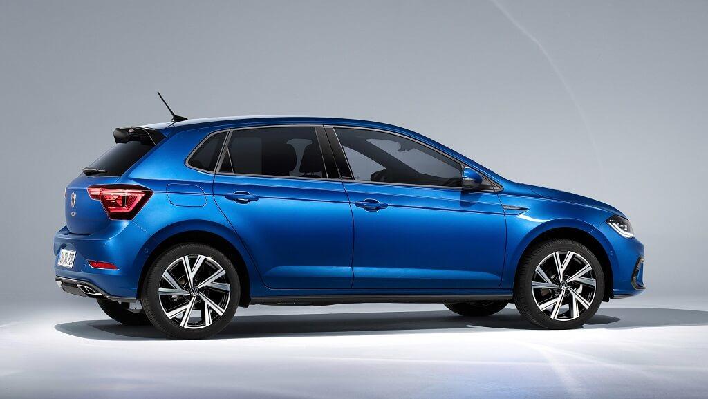 2021 yeni makyajlı Volkswagen Polo fotoğrafları