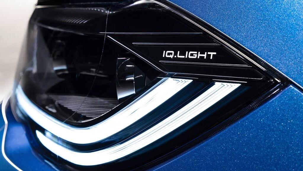 makyajlı Volkswagen Polo iq light farlar