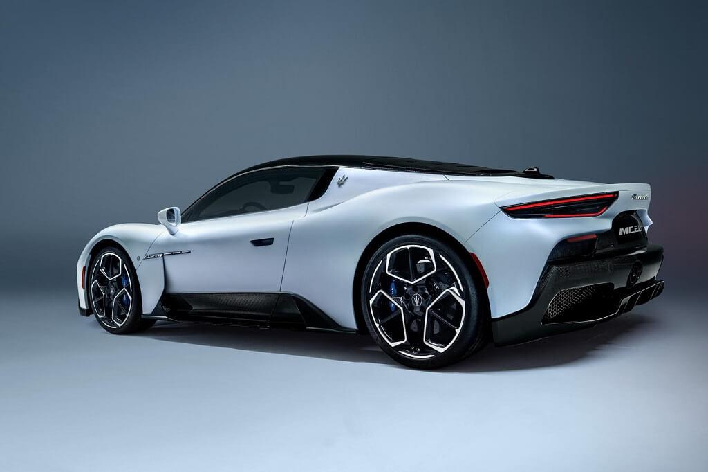 2021 Maserati MC20 görüntüleri
