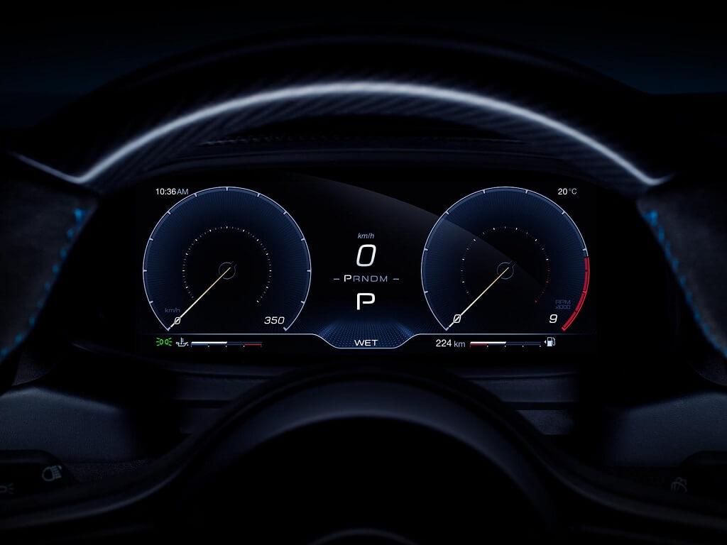 2021 Maserati MC20 kadran