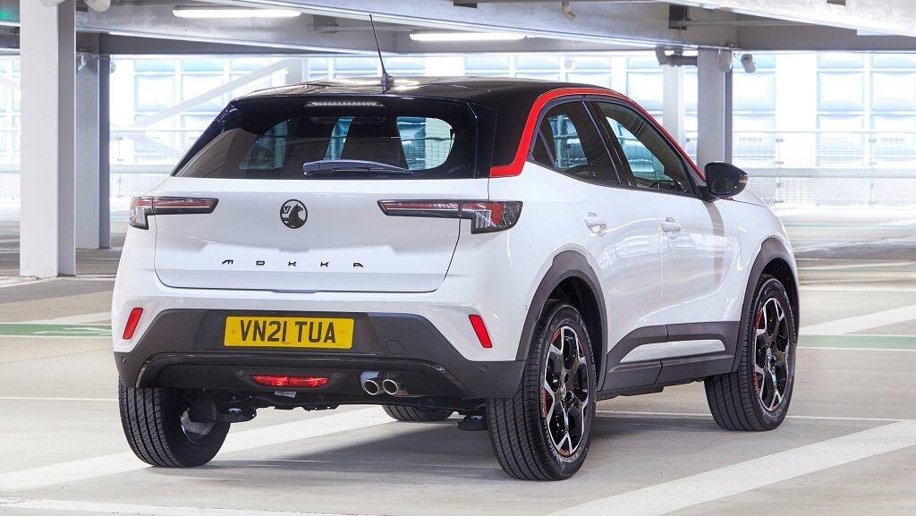 2021 Yeni Opel Mokka arka tasarım