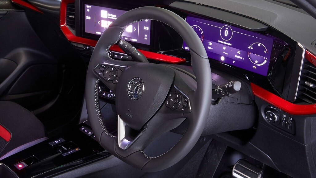 2021 Yeni Opel Mokka iç mekan