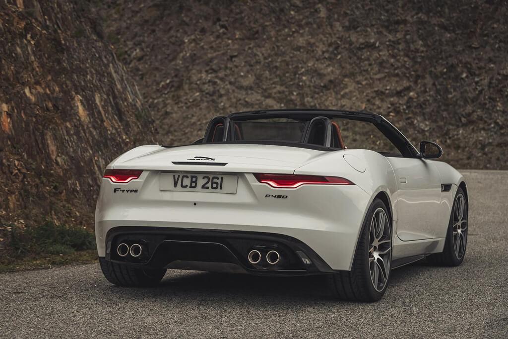 2022 Jaguar F-Type fotoğrafları