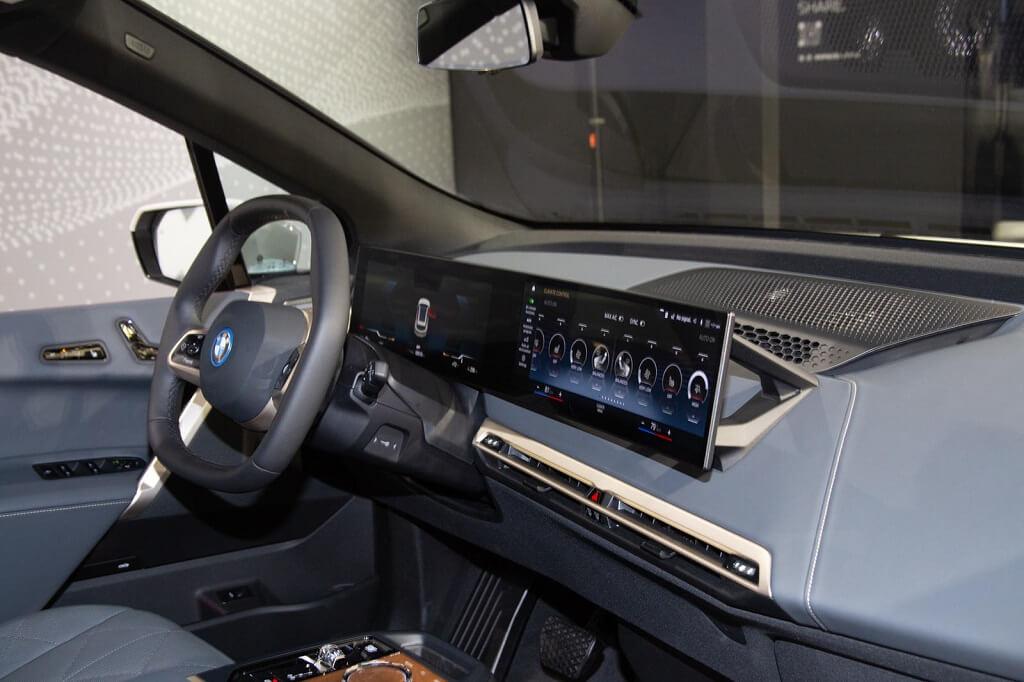 BMW iX'in En İyi 10 Özelliği iç tasarım