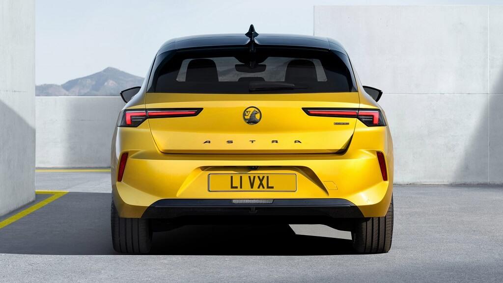 2022 Yeni Opel Astra arka tasarım