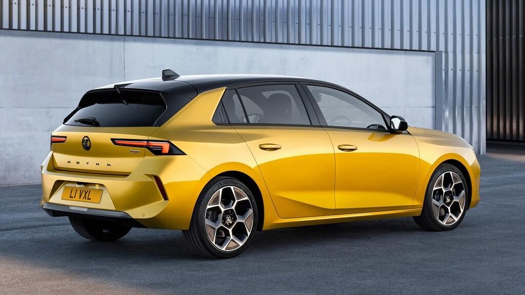 2022 Yeni Opel Astra görüntüleri