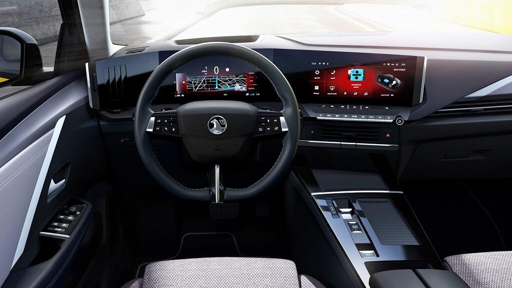 2022 Yeni Opel Astra iç mekan
