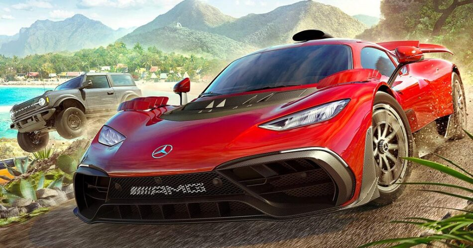 Mercedes-AMG Forza Horizon 5 için Eşsiz Hypercar Tasarladı