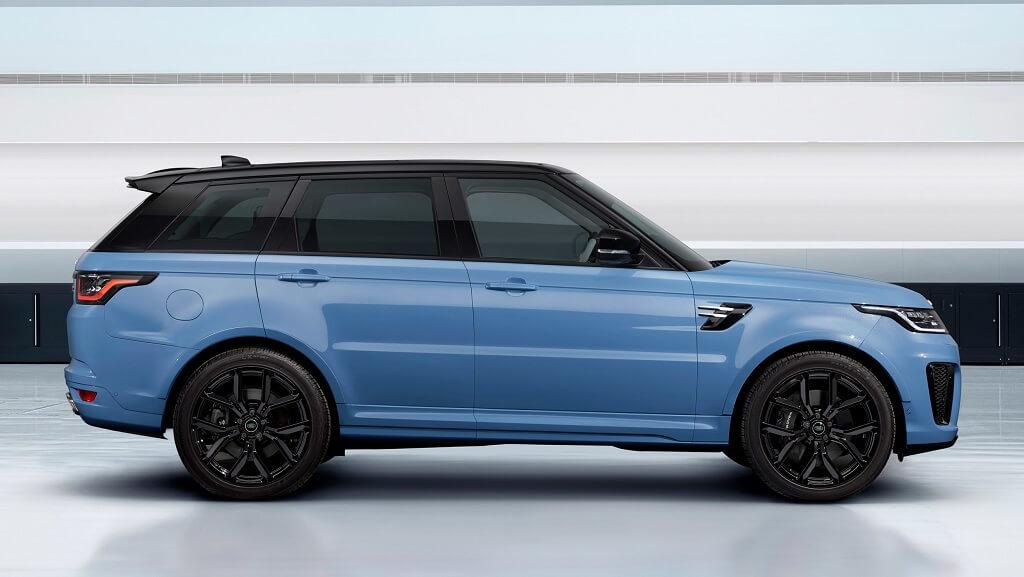 Yeni 2021 Range Rover Sport SVR Ultimate Edition fotoğrafları