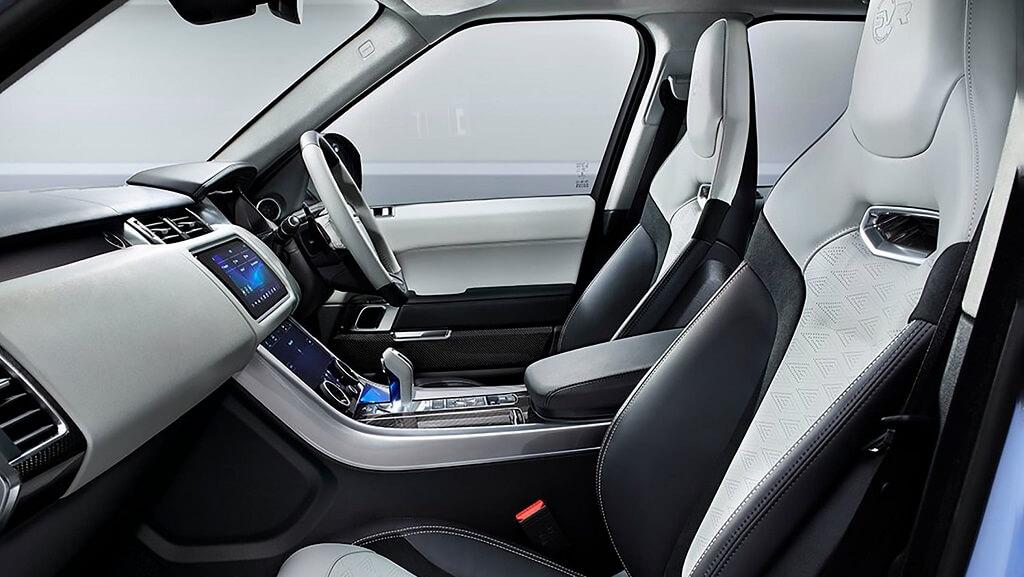 Yeni 2021 Range Rover Sport SVR Ultimate Edition iç mekan