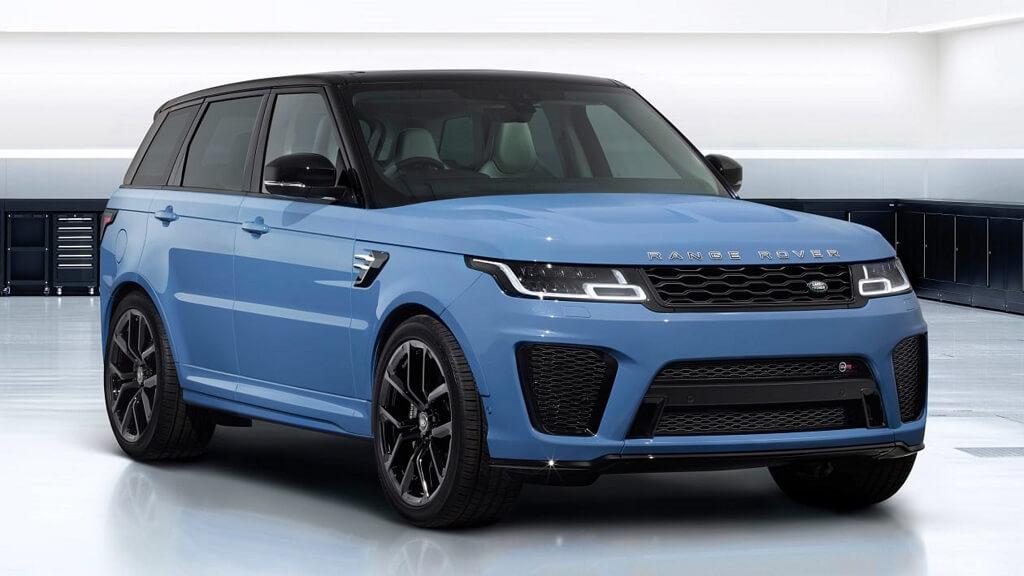 Yeni 2021 Range Rover Sport SVR Ultimate Edition