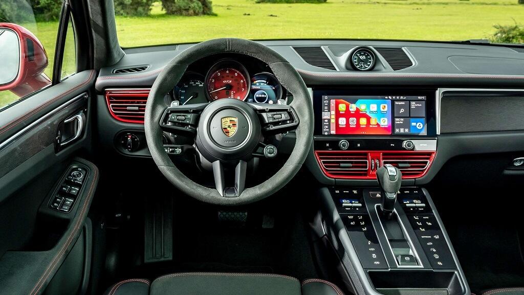 2021 Porsche Macan GTS iç mekan
