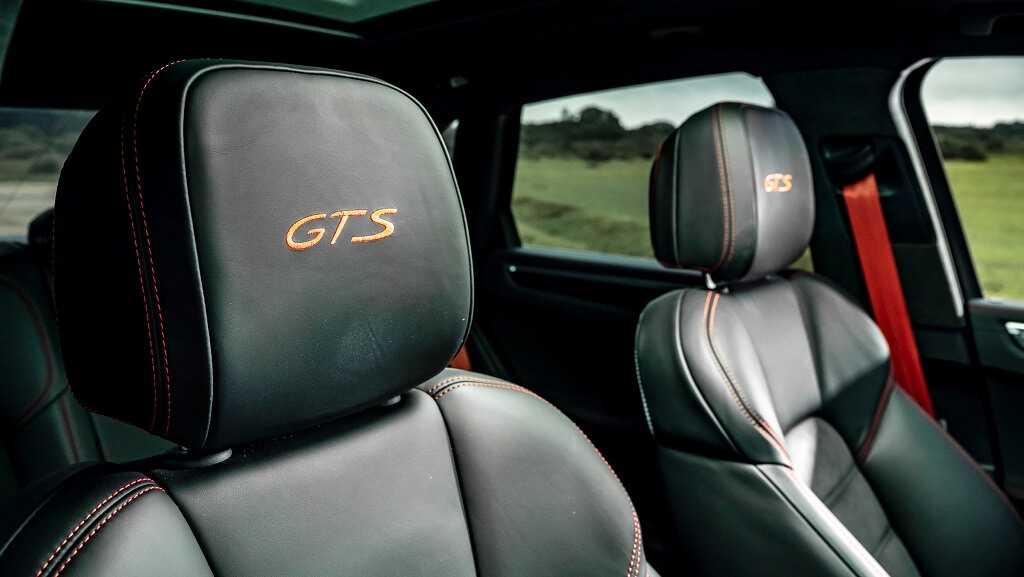 2021 Porsche Macan GTS koltuklar