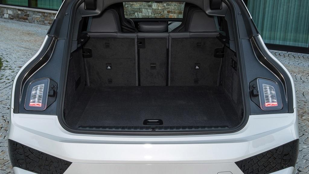 2021 Yeni BMW iX bagaj