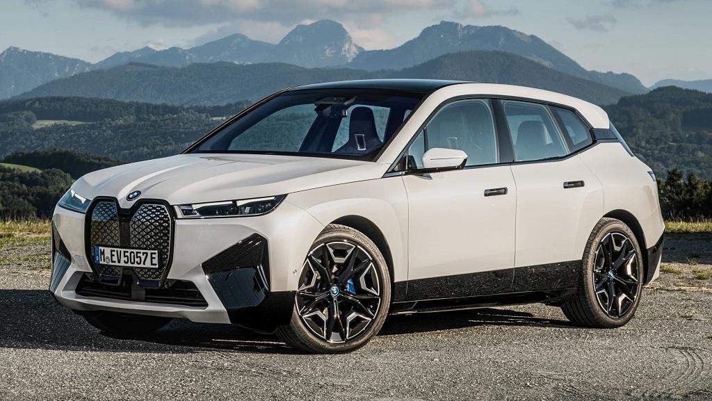 2021 Yeni BMW iX fotoğrafları