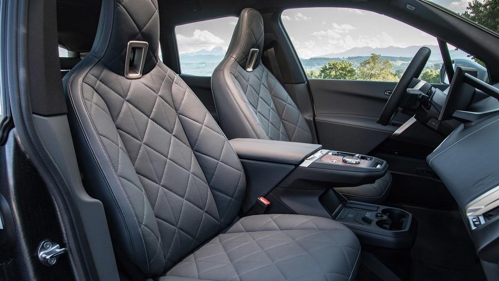 2021 Yeni BMW iX koltukları
