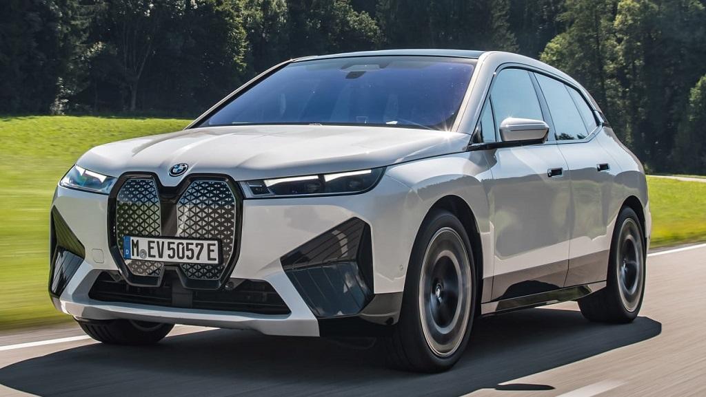 2021 Yeni BMW iX ön tasarım