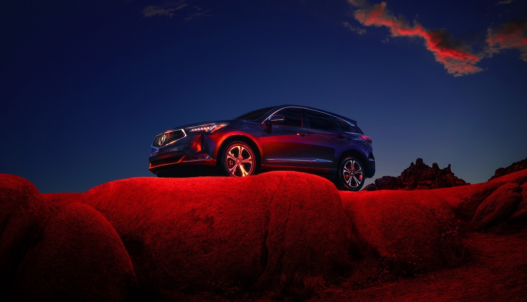 2022 Makyajlı Acura RDX fotoğrafları