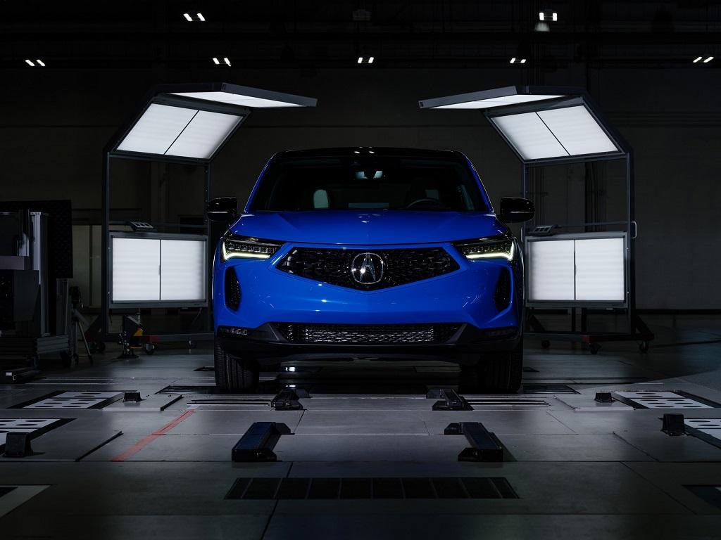 2022 Makyajlı Acura RDX görselleri