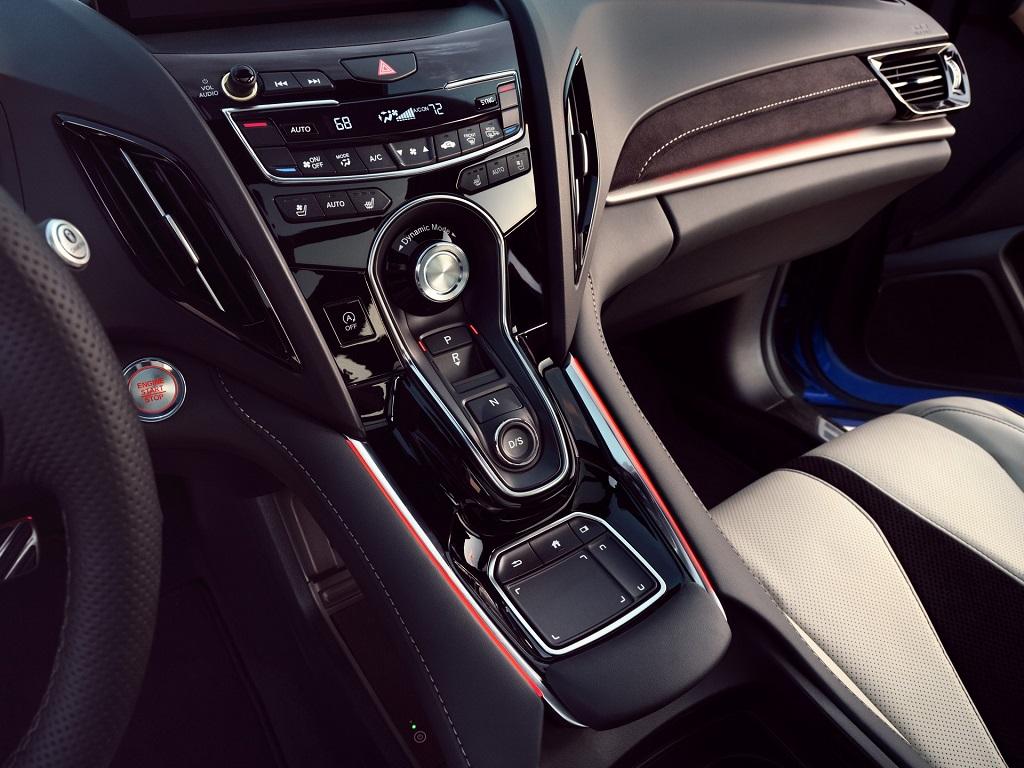 2022 Makyajlı Acura RDX iç tasarım