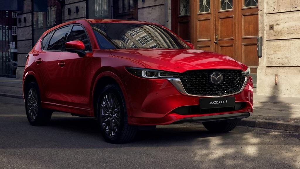 2022 Makyajlı Mazda CX-5 fotoğrafları